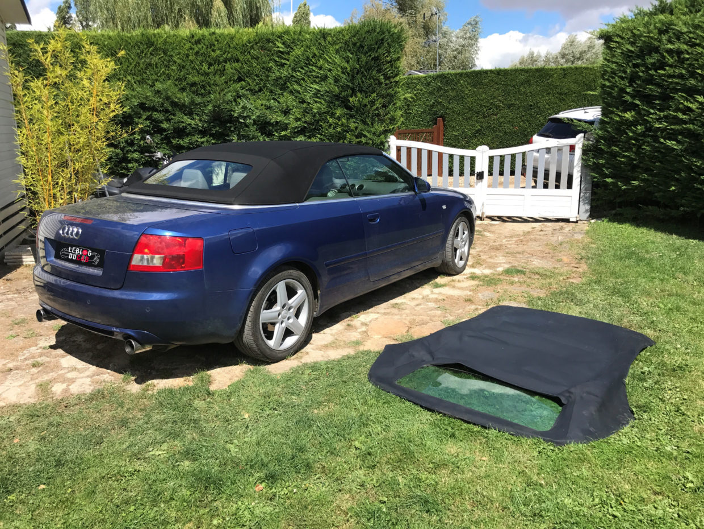 Remplacement capote d'Audi A4